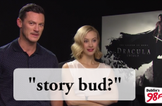 Dracula film stars struggle to understand Dublin slang