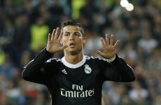 Ronaldo leads comeback as Real scrape past Ludogorets