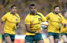 Kurtley Beale dropped by Australia after alleged aeroplane bust-up