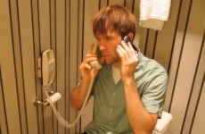 Half of Irish people think it's OK to make phone calls from the toilet