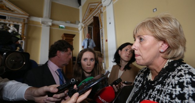 Heather Humphreys had another bad afternoon answering questions on 'McNulty-gate'