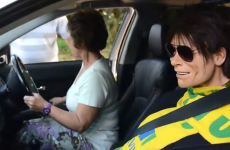 Woman says driving around with life-size Cliff Richard doll makes her feel 'safer'