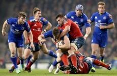Leinster's O'Connor says Ireland competition keeps Munster rivalry alive
