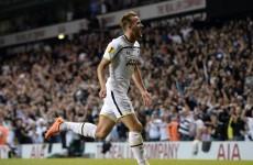 Tottenham couldn't beat Besiktas despite this beautifully struck Harry Kane goal