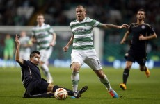 Europa League wrap: Celtic joint top after downing Zagreb, Tottenham held