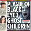 Here's the actual story behind the 'black-eyed ghost children'