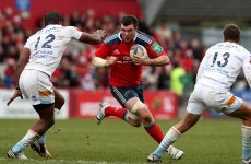 O'Mahony included on Munster bench as Leinster make three changes