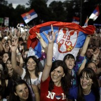In pictures: Serbia welcomes home its Wimbledon Champ