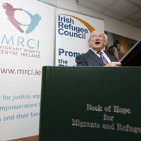 """""""We will be judged on how we treat those who present at our borders"""" - President Higgins"""