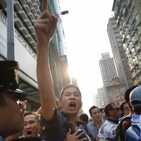Hong Kong protesters are coming under 'organised attack' from locals