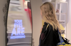 IKEA has invented a mirror that literally says nice things about you