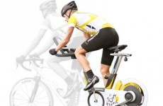 This stationary bike simulates the Tour de France using Google Maps