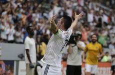 Robbie Keane does MVP bid no harm with fantastic volley