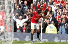 Falcao fires United to victory over Everton
