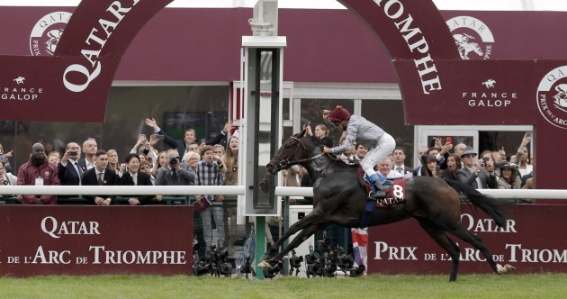 Treve emulates Alleged with second Arc win