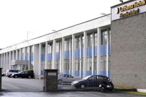The Lufthansa Technik Airmotive plant in Rathcoole, Dublin.
