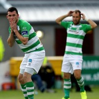 Patterson strikes late for Derry to force Cup semi-final replay with Shamrock Rovers