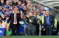 Wenger stands ground over Mourinho confrontation
