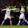 Ronaldo celebrated scoring by copying James' super-smooth salsa dance routine