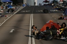 Protests dwindle as Hong Kong goes back to work