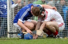 Podge Collins consoling his Clare team-mate and 19 of the best pics from the weekend's club GAA action