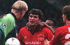Keane reveals head-butting Peter Schmeichel during pre-season tour