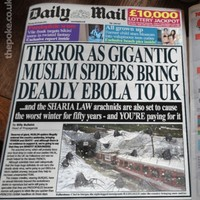 This fake Daily Mail headline about 'Muslim Spiders' fooled lots of people today