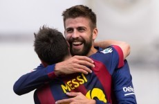 Pique has no plans to return to Manchester United
