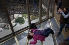 This is the Eiffel Tower's brand new vertigo-inducing glass floor