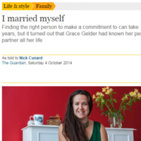 Meet the woman who went viral because she married herself
