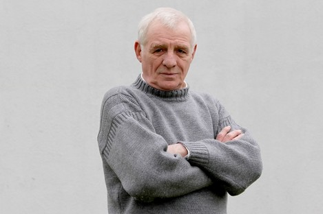 Eamon Dunphy: ghost writer for Keane's first book.