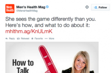 Men's magazine apologises for offensive article on talking about sports with women