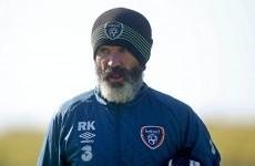 Martin O'Neill is keeping a close eye on Roy Keane's beard