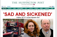 Irish figures among bloggers on Huffington Post's new UK edition