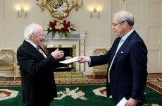 Ireland's new US Ambassador met the President today