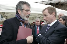 Neck and neck: Sinn Féin and Fine Gael are level in latest opinion poll