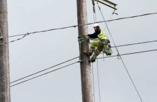 ESB has restored power to 12,500 homes....7,500 still to go