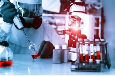 Laboratory examination of Ebola