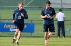 'I don't think I've ever seen him have a bad training session never mind a bad game'