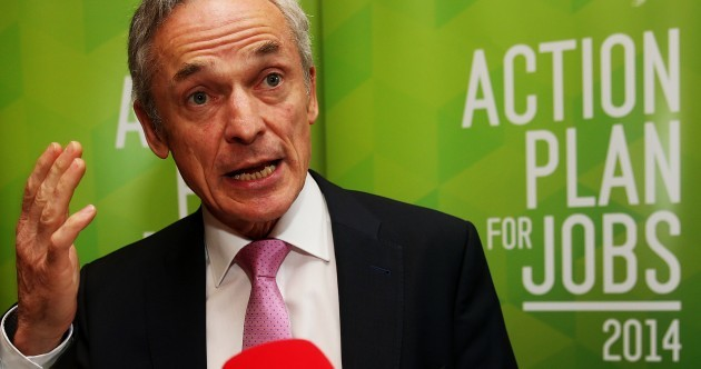 Richard Bruton wants thousands more startups and he might hand out tax breaks to get them*