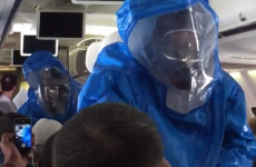 This is what happens when you claim to have Ebola on an aeroplane