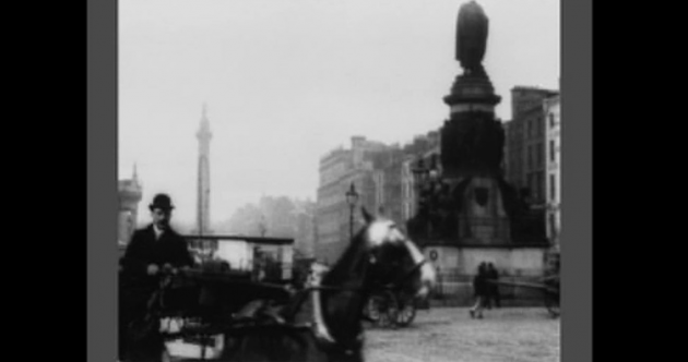 This is the oldest surviving film footage of Dublin ... shot back in 1897