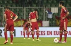 Spain's Andrés Iniesta 'f***ed' by Slovakia shock