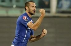 Chiellini scores three (but no hat-trick) while Suarez makes Uruguay return