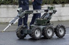 Explosive device found outside house in Tallaght