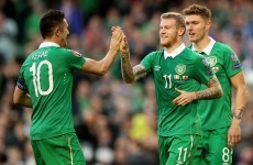 Keane bags first half hat-trick as Ireland put seven past hapless Gibraltar