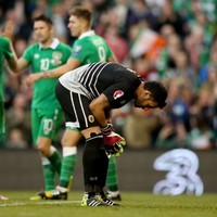 'It's like your whole world is caving in' - Forde's sympathy for Gibraltar stopper