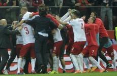 Poland claim historic win over world champions Germany