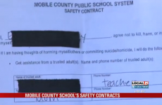School asks girl to sign 'safety contract' after she drew a picture of a gun