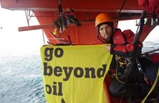 Greenpeace occupy Arctic oil rig